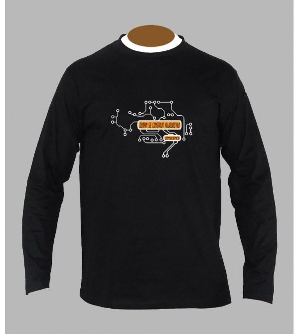 Tee shirt tekno électro manches longues
