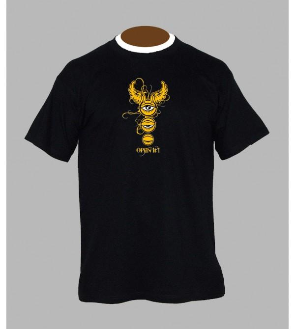 T-shirt psychédélique homme