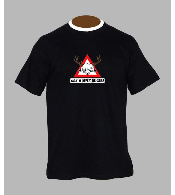 T-shirt tekno gaz - Vêtement homme