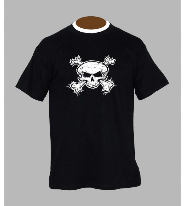Tee shirt tete de mort -  Vêtement homme