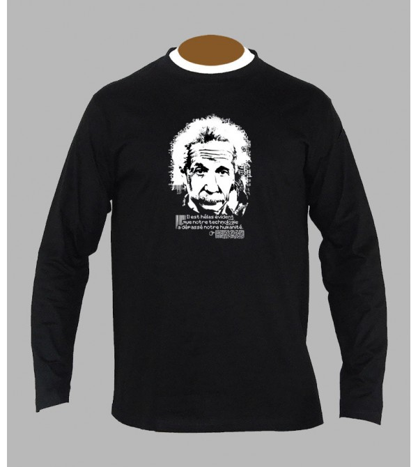 TEE SHIRT ALBERT EINSTEIN, ACHAT ET VENTE DE T-SHIRT ALBERT EINSTEIN - SHOP
