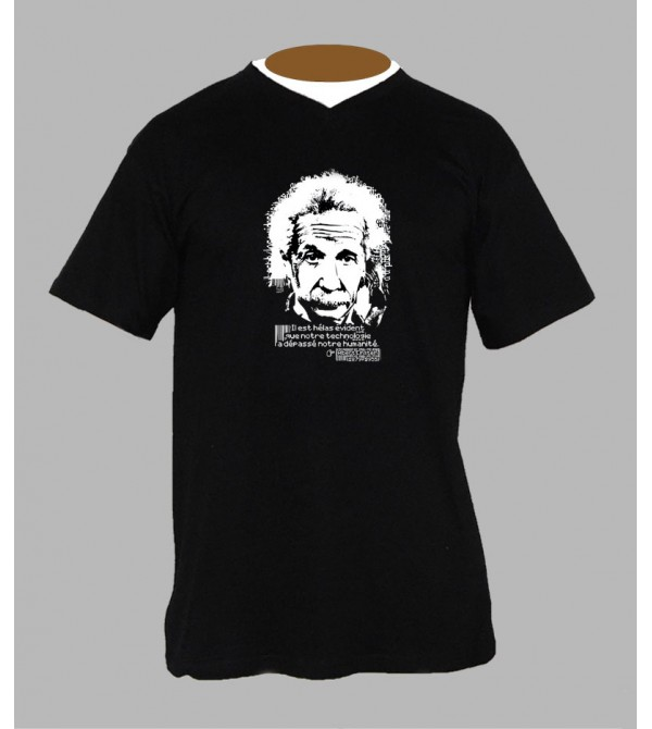 TEE SHIRT ALBERT EINSTEIN, ACHETER PAS CHER T-SHIRT ALBERT EINSTEIN - BOUTIQUE