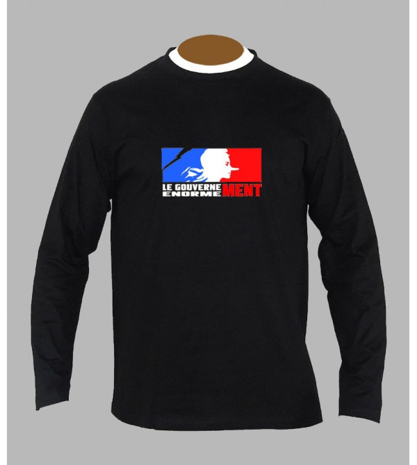 T-shirt rock anarchie manches longues