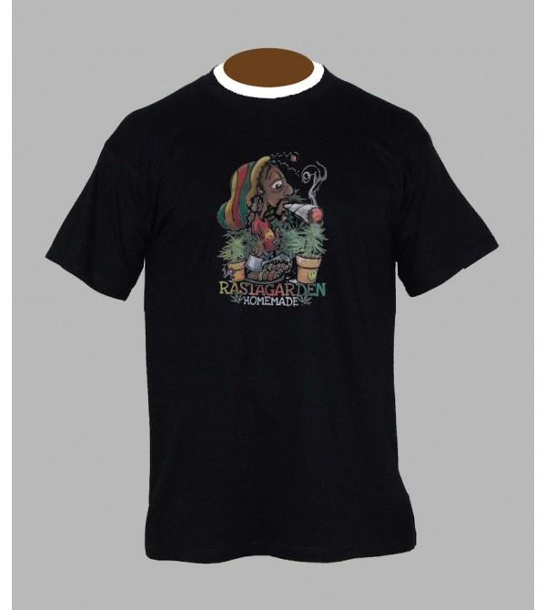 Tee shirt rasta-man - Vêtement homme