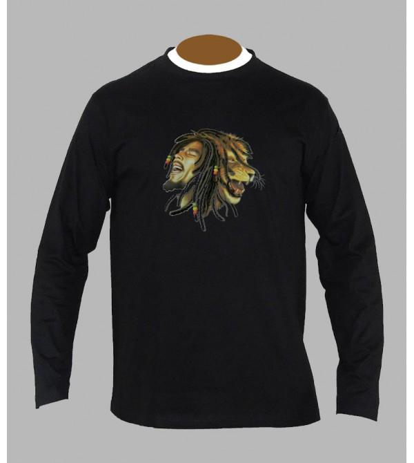 TEE SHIRT BOB MARLEY LION, ACHAT ET VENTE DE T-SHIRT LION BOB MARLEY