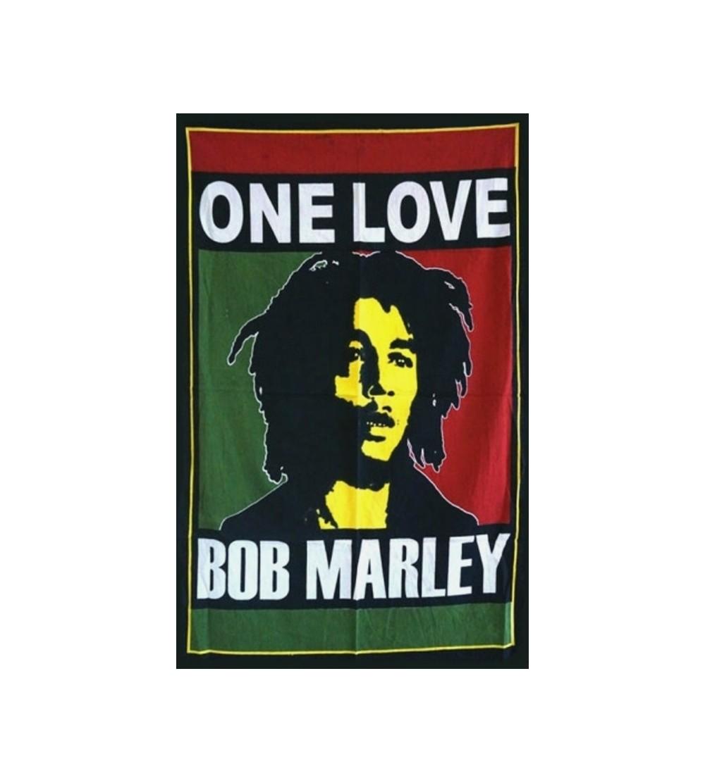 DRAPEAU BOB MARLEY ONE LOVE