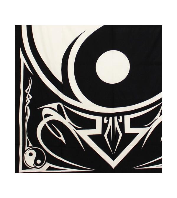 Tenture yin yang noir et blanc, acheter pas cher tenture noir et blanc. Découvrez notre collection de tentures murales