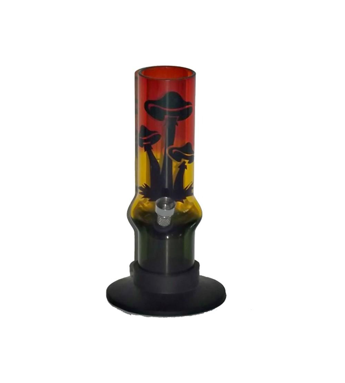 Bang acrylique avec champi pipe a eau champignon brad pvc bong mushroom plastique 3