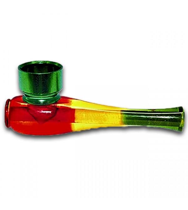 Pipe acrylique rasta bob marley pipe en verre bois métal alu amsterdam pas cher 12