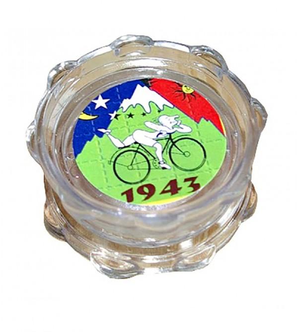 Grinder acrylique grinder acrylique weed rasta bob marley feuille de cannabis 15