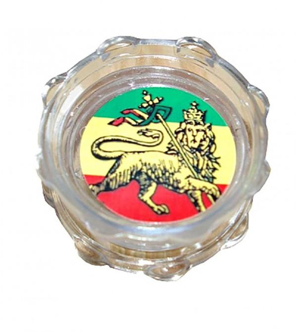 Grinder acrylique grinder acrylique weed rasta bob marley feuille de cannabis 19