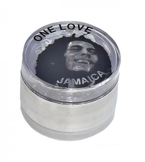 Grinder métal grinder aluminum alu weed rasta bob marley feuille de cannabis 2