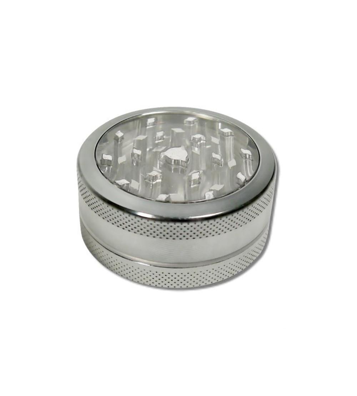 Grinder métal grinder aluminum alu weed rasta bob marley feuille de cannabis 20