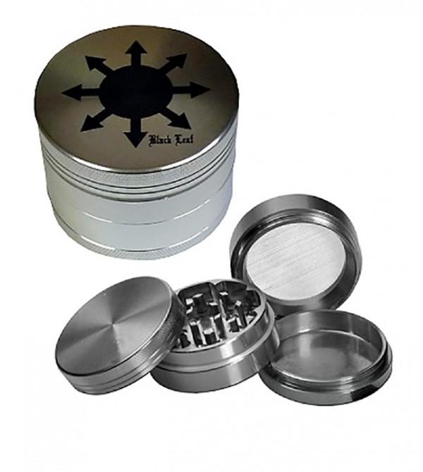 Grinder métal grinder aluminum alu weed rasta bob marley feuille de cannabis 22