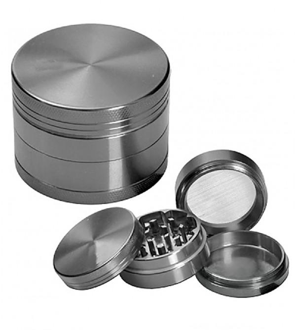 Grinder métal grinder aluminum alu weed rasta bob marley feuille de cannabis 24