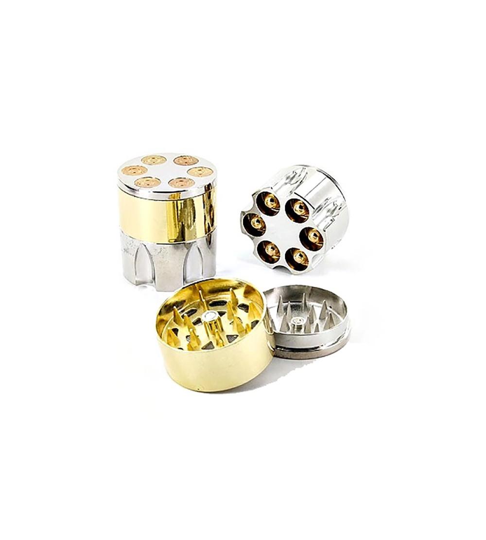GRINDER BARILLET DE REVOLVER - ACHETER PAS CHER - SMOKE SHOP GRINDER  BALLE