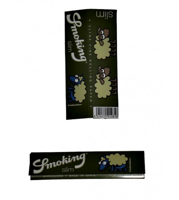Feuilles à rouler Smoking Slim papier a Rouler smoking 9