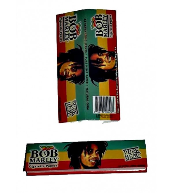 Feuilles à rouler Bob Marley Slim papier a Rouler bob marley 13