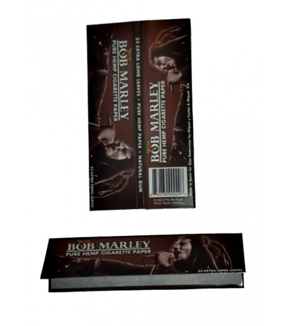 Feuilles à rouler Bob Marley Slim papier a Rouler bob marley 14