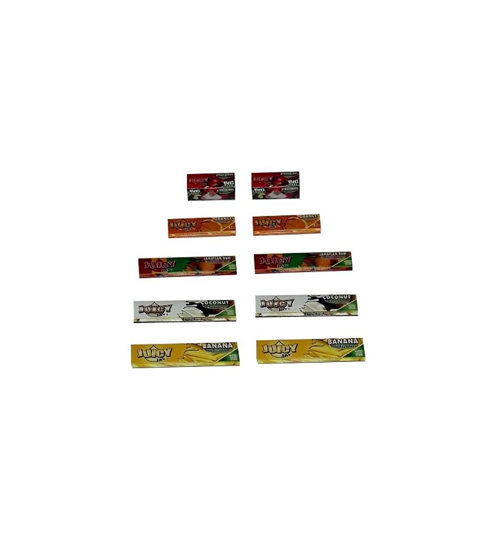Feuilles à rouler Aromatisées Slim papier a rouler aromatisé 1
