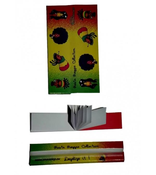 Feuilles à rouler Rasta Slim papier a Rouler rasta 2