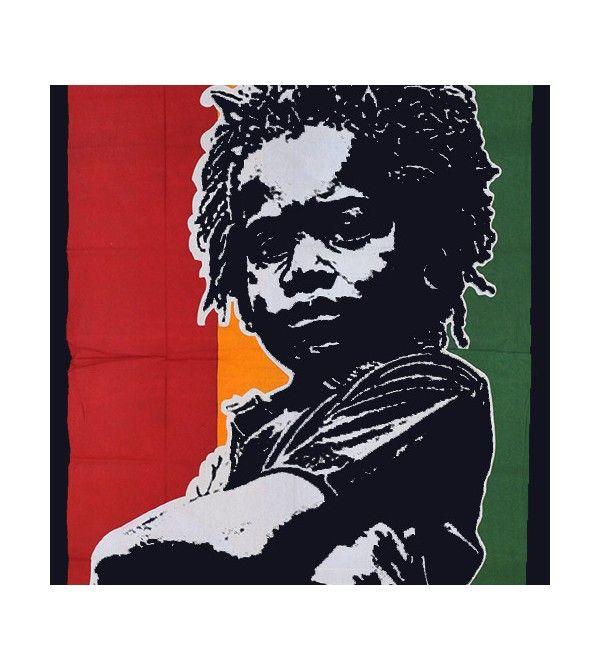 Drapeau Bob marley vert, jaune, rouge, acheter pas drapeau cher. Découvrez notre collection de tentures murales pas chère...