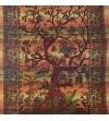 Tenture arbre de vie tissu indien... Découvrez notre collection de tentures murales pas chère...