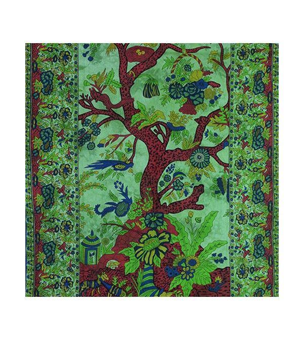 Tenture indienne arbre de vie, acheter pas cher tenture indienne arbre de vie... Découvrez notre collection de tentures.
