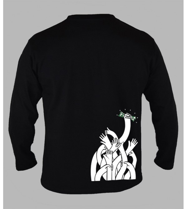 Tee shirt freestyle homme manches longues