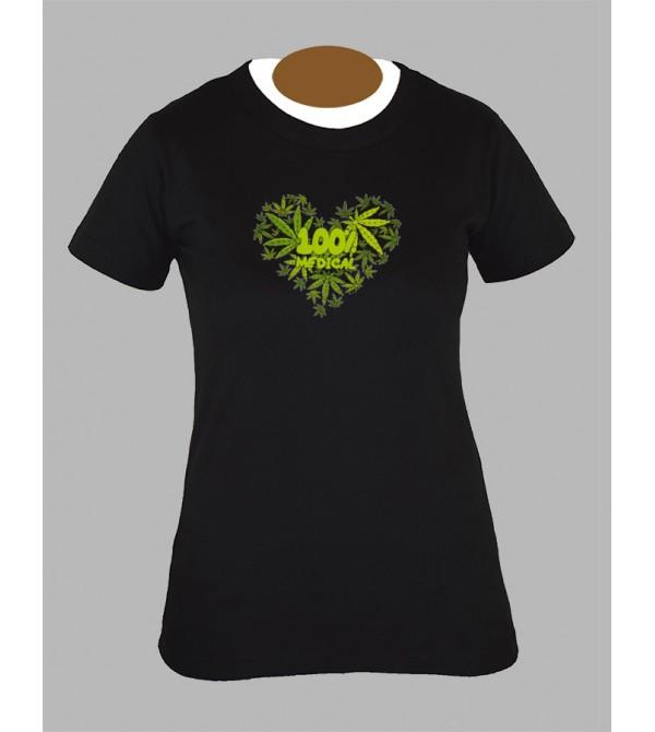 Tee shirt femme rasta bob marley feuille de cannabis weed 420 fringue vêtement 2