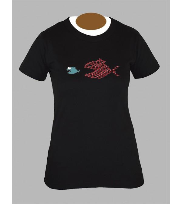 Tee shirt femme humoristique breton humour fringue vetement 1