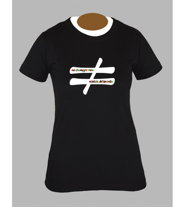 Tee shirt femme electro techno tekno dj drum and bass fringue vêtement 3
