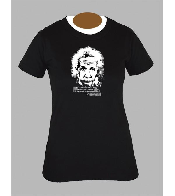 Tee shirt femme electro techno tekno dj drum and bass fringue vêtement 4
