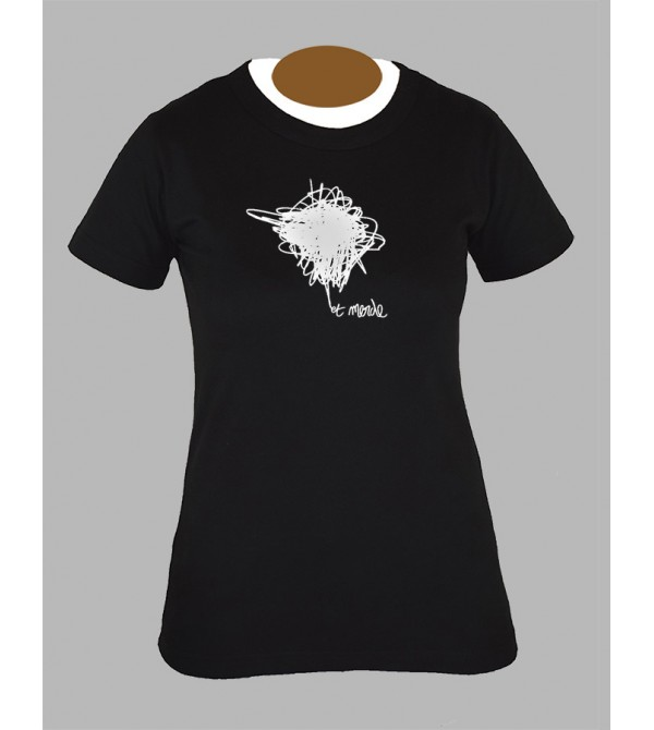Tee shirt femme electro techno tekno dj drum and bass fringue vêtement 8