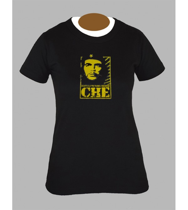 Tee shirt femme che guevara hippie baba cool fringue vetement 2