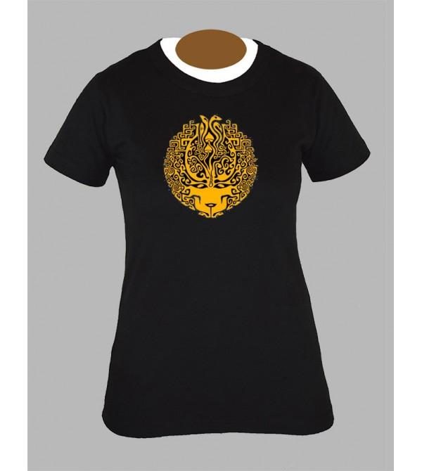 Tee shirt femme champignon avec champi mushroom fringue vetement 2