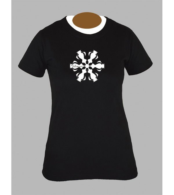 Tee shirt femme psychedelique psyche psychedelic fringue vêtement 3