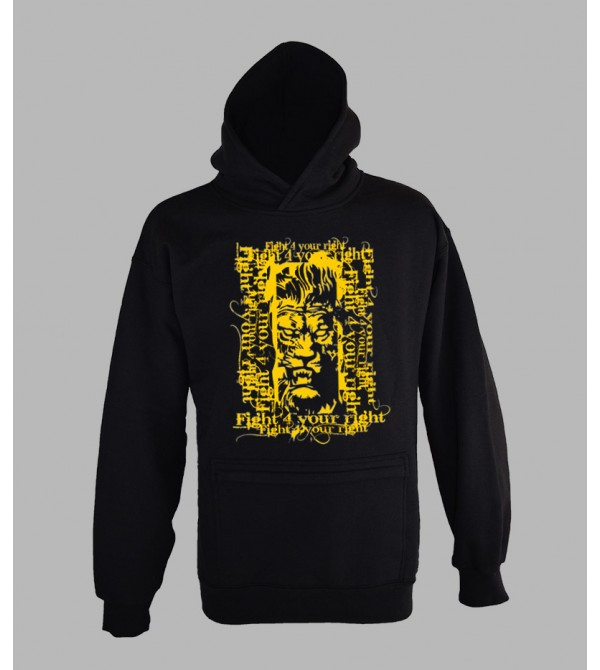 SWEAT RASTA LION, VÊTEMENT HOMME. PULL A CAPUCHE RASTA LION HOMME