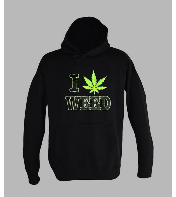 SWEAT WEED - ACHAT ET VENTE DE PULL A CAPUCHE WEED DROGUE HOMME- SHOP PAS CHER