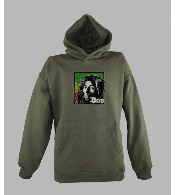 SWEAT BOB MARLEY PAS CHER - ACHETER PULL CAPUCHE BOB MARLEY RASTA HOMME - BOUTIQUE