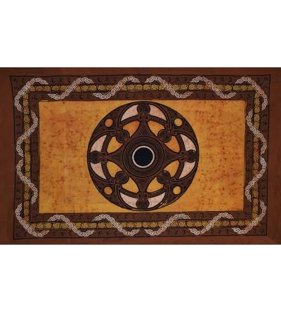 Décoration murale, tête de lit, dessus de lit ou de table. drapeau breton triskell... Drapeau