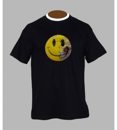 TEE SHIRT SMILEY , VÊTEMENT HOMME. T-SHIRT SMILEY - FRINGUE PAS CHER