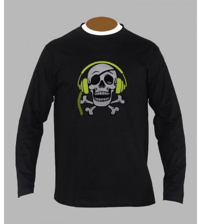 T-shirt underground, sound system, fringue de teuf, free party, rave, electro, techno, tekno, electro  tete de mort a63