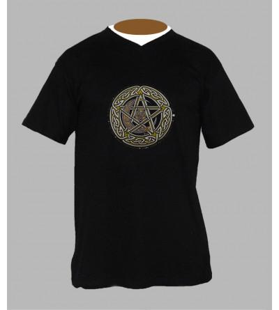 Tee shirt breton homme Col V '' BzH ''