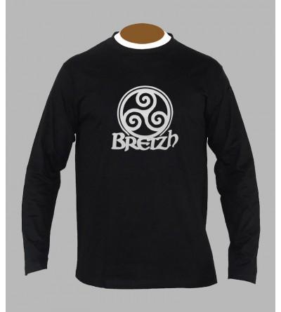 T-shirt breton homme manches longues