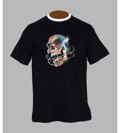 T-shirt underground, sound system, fringue de teuf, free party, rave, electro, techno, tekno, electro  tete de mort a74