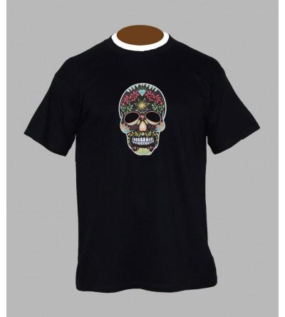 T-shirt underground, sound system, fringue de teuf, free party, rave, electro, techno, tekno, electro  tete de mort a76