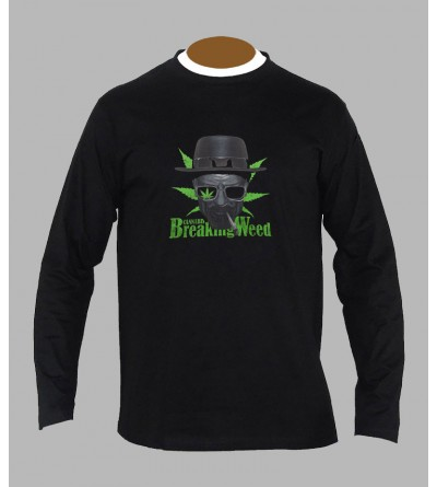 TEE SHIRT BREAKING WEED, ACHAT ET VENTE DE T-SHIRT BREAKING HOMME - SHOP