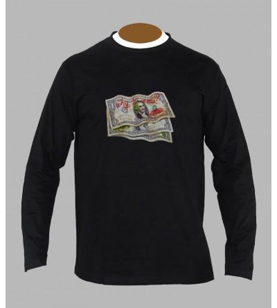 Tee shirt trance monnaie manches longues
