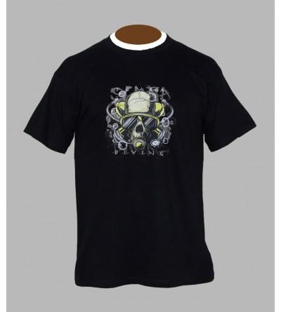 T-shirt underground, sound system, fringue de teuf, free party, rave, electro, techno, tekno, electro  tete de mort b24